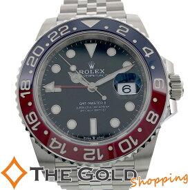 【中古】ロレックス GMTマスター2 126710BLRO 2020年9月 新ギャラ ランダム 赤青 青赤 ROLEX 腕時計 メンズ[男性用] ギフト プレゼント ご褒美 新年会 ザ・ゴールド