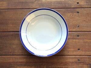LA MOISSON ブラッセリーブルー 9インチ スープ皿 深皿 ディーププレート