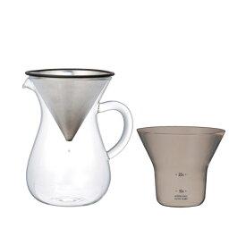 KINTO キントー SLOW COFFEE STYLE スローコーヒースタイル SCS-02-CC コーヒーカラフェセット 300ml