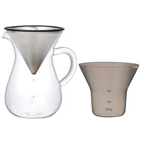 KINTO キントー SLOW COFFEE STYLE スローコーヒースタイル SCS-04-CC コーヒーカラフェセット 600ml