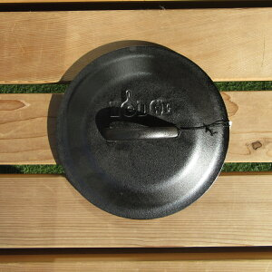 LODGE(ロッジ) スキレット カバー 8インチ 鉄製 鍋