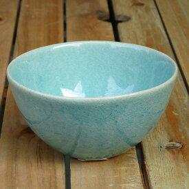 HARVEST CRAZE ハーベスト クレイズ ライスボウル ブルー 信楽焼 茶碗 皿
