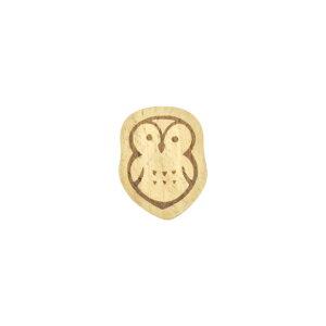 箸置き カトラリーレスト おしゃれ かわいい【【万作セレクト】 ブナ製箸置き-版画風動物】