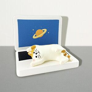 猫 ねこ ネコ スマートフォンスタンド デコレ プレゼント かわいい 雑貨 グッズ 誕生日 ギフト プレゼント |【猫まっしぐらセレクト】 猫のスマホスタンド−じゃま猫 PC