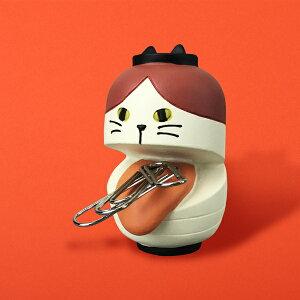 ハチワレ 猫 ねこ ネコ クリップホルダー クリップ 妖怪 デコレ プレゼント かわいい 雑貨 グッズ 誕生日 ギフト プレゼント |【猫まっしぐらセレクト】うらめしにゃんこ夜行 猫のクリップ