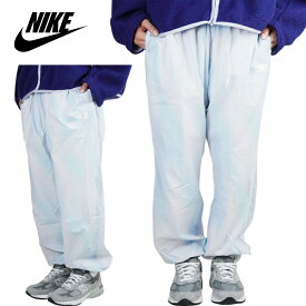 NIKE ナイキレディース パンツWOMENS WOVEN PANTSウィメンズ ウーヴンパンツWHITE AURORA(ホワイトオーロラ)白 青 グラデーション ナイロンパンツ ストリート