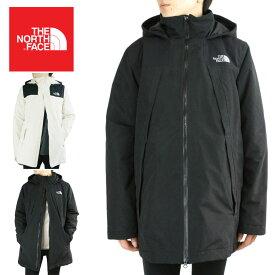 ノースフェイスレディース ジャケットザノースフェイスW GABBY INS PARKA-RTOウィメンズ ギャビーインサレーションパーカーVINTAGE WHITE(ビンテージホワイト) TNF BLK(ブラック)中綿 黒 白 リップストップ