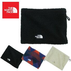 ノースフェイスTHE NORTH FACEネックウォーマーFLEECE NECK WARMERNAVY(ネイビー) BLACK(ブラック) LIGHTBEIGE(ライトベージュ)男女兼用 帽子 黒 オフホワイト ボア ロゴ