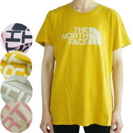 ノースフェイスTHE NORTH FACE レディース TシャツW SS HALFDOME T-RTOウィメンズ ショートスリーブ ハーフドームTシャツ レトロPINKWHISPERHTHR(ピンク)ARROWWOOD YLW(イエロー) LINENHTR/TNF WHITE(リネンヘザー) TNF OATMEALHTHR(オート