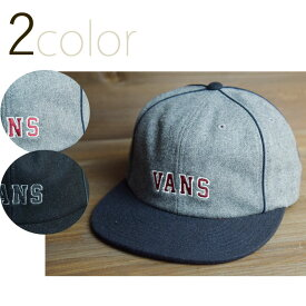 VANS ヴァンズ バンズ OWEN UNSTRUCTURED CAPオーウェン アンストラクチャードキャップBLACK(ブラック) GREYxNAVY(グレーネイビー)メンズ 男女兼用 帽子 スエード 刺繍 黒 紺 赤 白