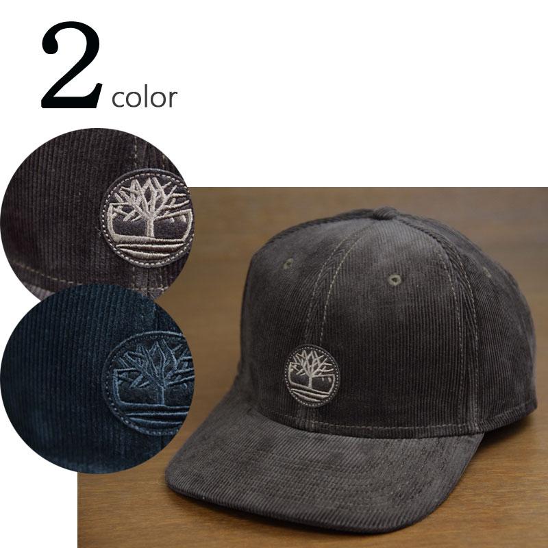 【新入荷】TIMBERLANDティンバーランドCORDUROY CAPコーデュロイキャップBROWN(ブラウン) BLACK(ブラック)男女兼用 帽子 茶色 黒
