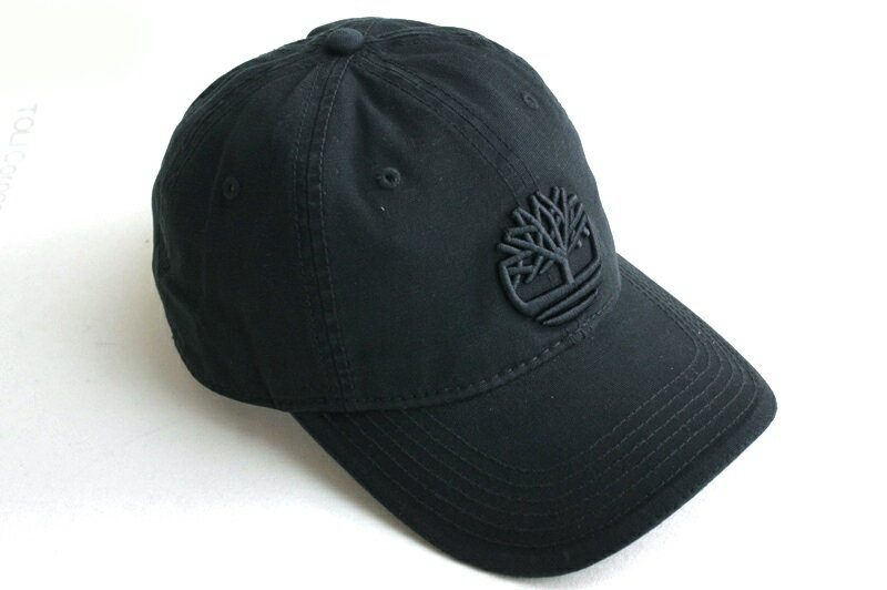 【新入荷】TIMBERLANDティンバーランドDUCK STRAPBACK CAPダックストラップバックキャップBLACK(ブラック)男女兼用 帽子 黒 ロゴ