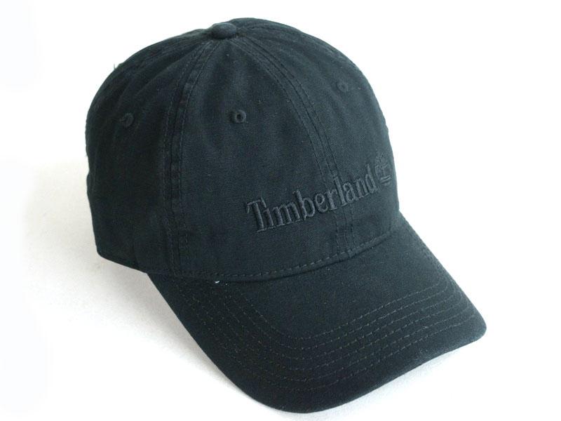 TIMBERLANDティンバーランド男女兼用 キャップDUCK LOGO CAPダックロゴキャップBLACK(ブラック)帽子 刺繍 メンズ レディース 黒