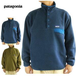 パタゴニア Patagoniaメンズ フリースM'S SYNCHILLA SNAP-T PULLOVERメンズ シンチラ スナップT プルオーバーSEDIMENT(オリーブ) NAVY BLUE(ネイビーブルー)フリースジャケット トップス カーキ 緑 紺