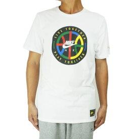 NIKE ナイキメンズ TシャツNSW PLAY LIVE TOGETHER NYC TEEナイキスポーツウェア TシャツWHITE(ホワイト)AR0232 イエロー レッド ブルー グリーン ロゴ
