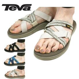 TEVA テバW VOYA SLIDEウィメンズ ボヤ スライドBLACK(ブラック) QUITA BIRCH(バーチ) QUITA BLACK IRIS(ブラックアイリス)レディース サンダル クロス 靴 黒 青 カーキ