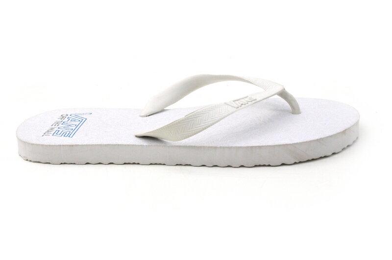 【訳あり】VANSヴァンズ  バンズBEACHSANDAL ビーチサンダルWHITE(ホワイト)レディース 靴 ロゴ