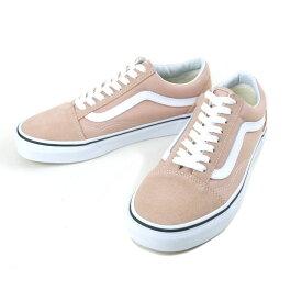 バンズ VANS ヴァンズOLD SKOOL オールドスクールMAHOGANY ROSE/TRUE WHITE(マホガニー/トゥルーホワイト)レディース 靴 スニーカー ピンク 白 スエード