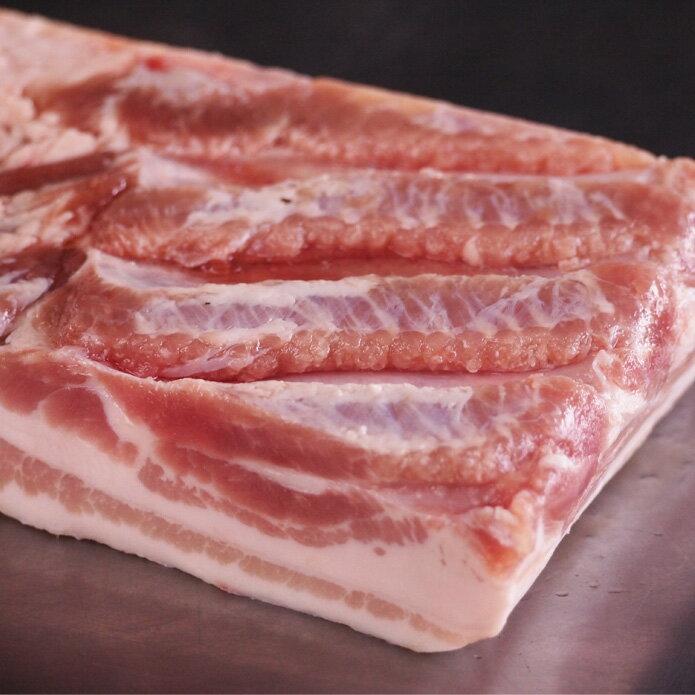 豚バラ肉 ブロック 約1kg【24%値下げしました!】豚肉ばら 豚の角煮や甘酢に♪