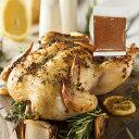 ローストチキン用 丸鶏 1.2kgサイズ+チキンスパイス20gセット グリラー(直輸入品)-SET901