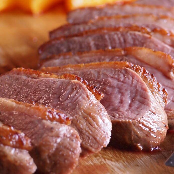 鴨ロース 胸肉 タックブレスト 鴨肉