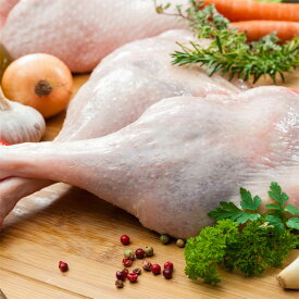 ターキーレッグ 1本約700g アメリカ産 ターキー骨付きモモ肉 七面鳥もも肉 冷凍/生肉 クリスマス/サンクスギビングに -T070