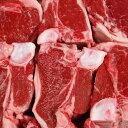ステーキ肉 ラム Tボーンステーキ (仔羊骨付きロースとフィレ) 2枚 -L012