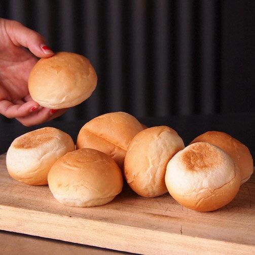 ミニバンズ8個直径約6cm ハンバーガー用パン冷凍バンズ(8個)スライダー用バンズ 冷凍パン
