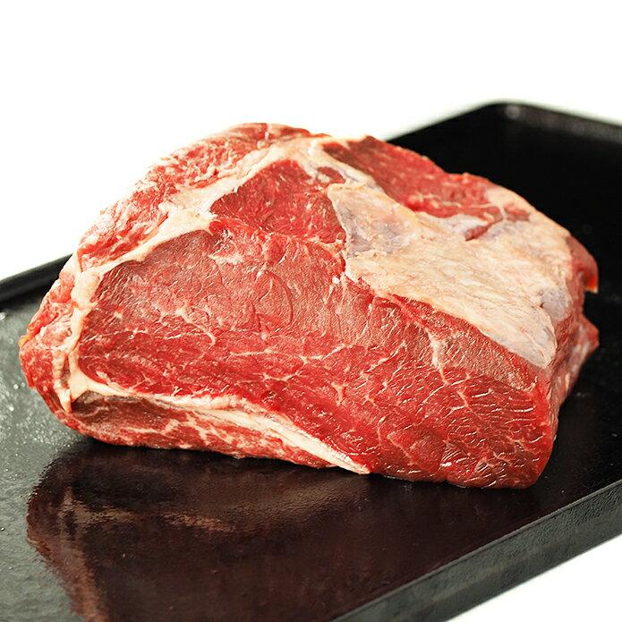 【送料無料】ステーキ肉 リブロースブロック 800gサイズ!ローストビーフや厚切りステーキ肉に!オージービーフ グラスフェッド 牛肉 牧草牛 -B108