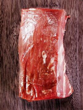 牛ヒレブロック500gサイズ(牛フィレ肉かたまり)/牛肉ステーキ最高級部位!塊肉で焼肉三昧・バーベキュー肉牛肉赤身★オージービーフ●雑誌掲載商品●グラスフェッドビーフ(牧草飼育牛肉・牧草肉