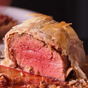 ステーキ肉 牛ヒレブロック 500gサイズ(牛フィレ肉かたまり)/牛肉ステーキ最高級部位!塊肉で焼肉三昧・バーベキュー肉 牛肉 赤身●雑誌掲載商品●グラスフェッドビーフ(牧草飼育牛