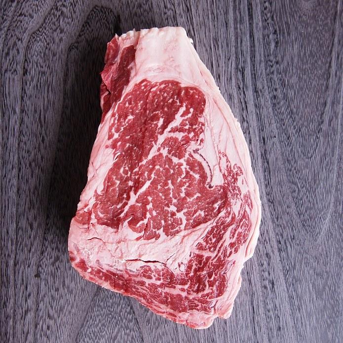 ステーキ肉 【MRB】モーガン牧場 厚切りリブアイステーキ350g (リブロースステーキ)バーベキュー肉 肉厚・牛肉ステーキ(焼肉/焼き肉・BBQ)アメリカ産 US産ビーフステーキ -MRB109