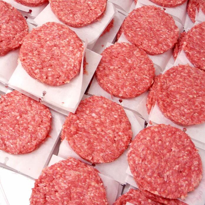 〓業務用〓ビーフパティ1箱 5kg 50枚入-学園祭・大人数BBQなどにハンバーガー!-B114k