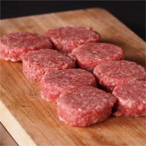 ミニパテ 45g×8個【無添加】牛肉100%ビーフパテ お弁当にも♪ ビーフパテ・パティ(冷凍ハンバーガー) グラスフェッドビーフ 牧草牛 オージー Sliderスライダー -B129