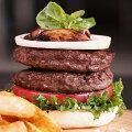 【特価】カンガルーハンバーガーパテ2枚入り【無添加】【YDKG-tk】