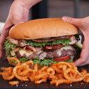 特大・手作りハンバーガーセット【パウンダー】びっくりサイズの1ポンドバーガー!お得さ福袋級! 【YDKG-tk】【smtb-tk】【RCP】