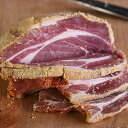 【手作り】バックベーコン(Back Bacon) ブロック/塩漬け豚肉 【YDKG-tk】
