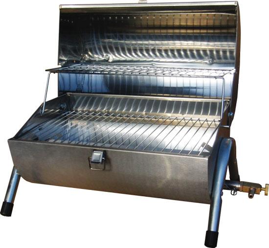 ポータブル・ガスバーベキューグリル 軽量型BBQグリル(BBQ応援特価)防災グッズのカセットコンロとしても【YDKG-tk】【smtb-tk】