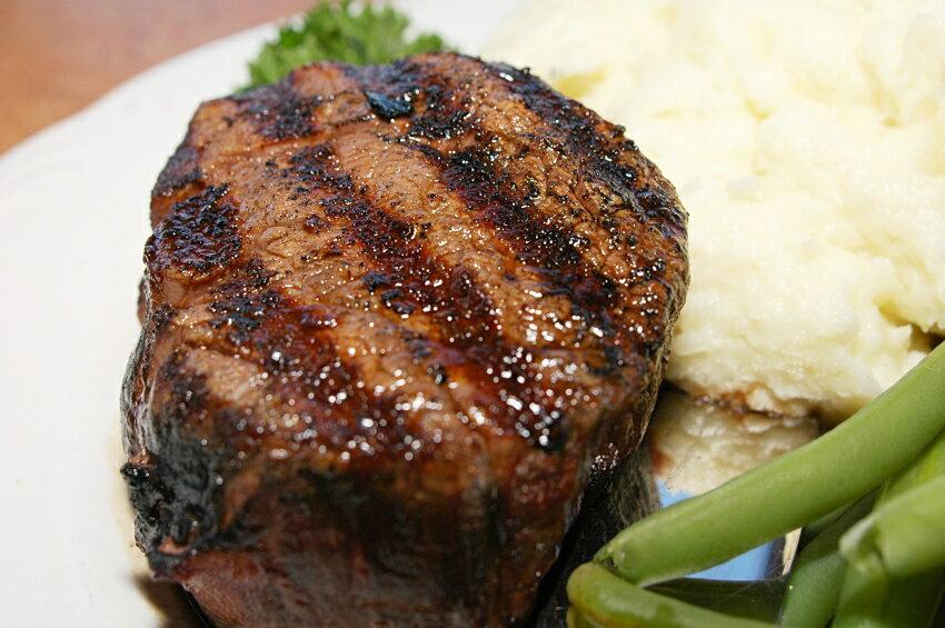 ステーキ肉 厚切りフィレミニヨン(牛ヒレステーキ)×6枚(約1.5kg)ステーキ肉お得さ福袋級!グラスフェッドビーフ(牧草飼育牛肉・牧草肉)-SET111