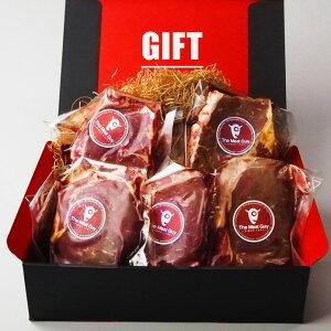 お中元(送料無料)ギフトセット ステーキ肉 ニュージーランド産リブロースステーキ 270g 5枚セット グラスフェッドビーフ 父の日ギフト-GIFT-903