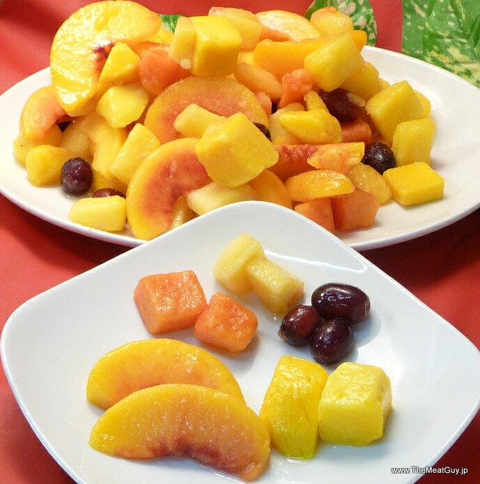 冷凍トロピカルフルーツミックス 5種類≪冷凍フルーツ≫たっぷり2.26kg入り・業務用サイズ★フルーツポンチやサングリアにも最適♪パパイヤ・パイナップル・もも・マンゴー・ぶどう