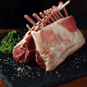 フレンチラムラック、ニュージーランド産 ラム肉 子羊 800g Lamb French Rack New Zealand SKU402