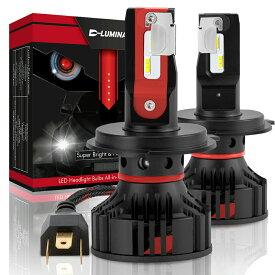 LED ヘッドライト フォグランプ H1 H4 H7 H8 H11 H16 H13 HB3 HB4 D2R D4R D2C D4C 車検対応 高輝度 新世代CREE製チップ搭載12000LM 6000K 配光調整 1年保証 CREE 2個セット