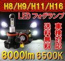 Philips LED フォグランプ H8/H9/H11/H16 ヘッドライト 2個 新基準車検対応 6500k 8000LM 12V/24V車兼用 ファンレス...
