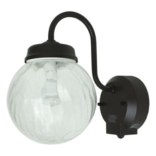 ☆【送料無料】人感センサー 玄関 照明 外灯 アンティークでレトロ感あふれるおしゃれなエクステリアライト(屋外照明) LED電球交換可能 防犯灯としても使える壁掛け照明