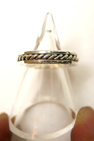 【正規取扱店】ROYAL ORDER ROMAN SPACER RING SILVER (ロイヤルオーダー)