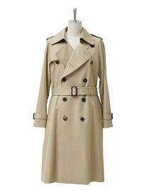 【正規取扱店】beautiful people 定番 ultimatepima long trench coat camelbeige(キャメルベージュ) (ビューティフルピープル)