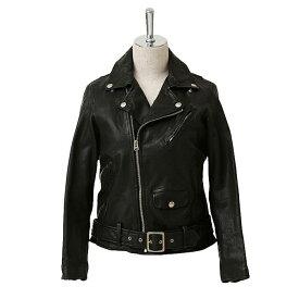 【正規取扱店】beautiful people 定番ライダースジャケット shrink leather riders jacket シュリンク レザーライダースジャケット black(ブラック) (ビューティフルピープル)