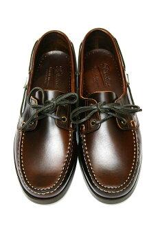Paraboot paraboot BARTH 甲板鞋栗子美国棕色和深棕色