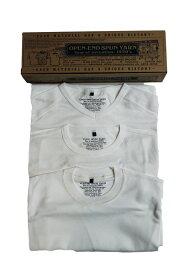 【正規取扱店】NIGEL CABOURN 3-PACK GYM TEES WHITE (ナイジェルケーボン)